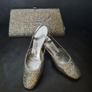 Vintage 1960's Glitter Shoes